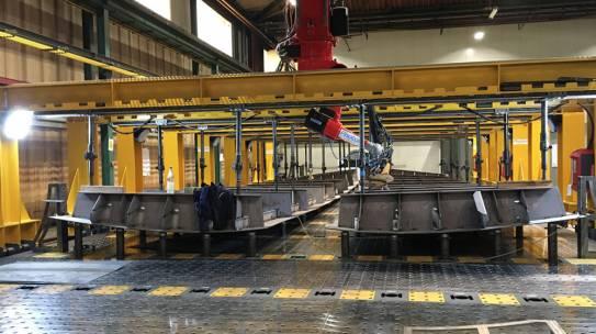 Neue 3D-Laserschweisstechnik weltweit einzigartig im Schiffbau